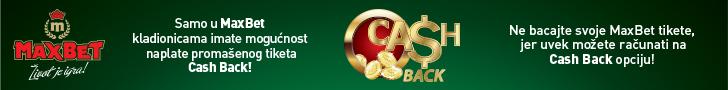 MaxBet - Cash Back